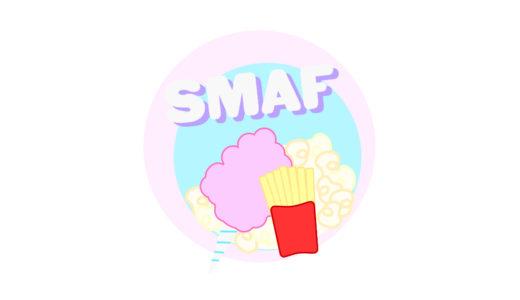 【4F・カフェテリア】SmaF - ちょっと小腹が空いたらSmaF! #綿菓子 #ポップコーン #カリカリポテト
